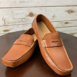 Cole Haan Brown Leather Driving moccasins shoe 8.5